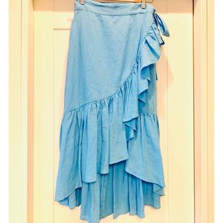 Drawer - MYLAN フリルスカート ブルー