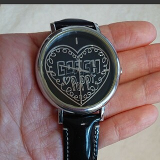 COACH - COACH 腕時計 ポピー ハート ブラック