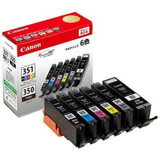 キヤノン(Canon)の純正インク Canon BCI-351+350/6MP(PC周辺機器)