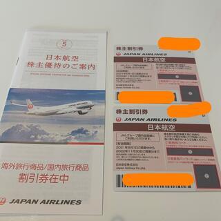 ジャル(ニホンコウクウ)(JAL(日本航空))のJAL 株主優待 航空券(航空券)