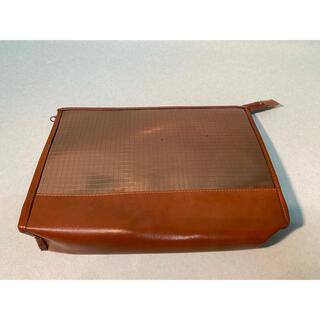 メナード(MENARD)の【未使用品】メナード クラッチバッグ セカンドバッグ ブラウン 鞄-006(クラッチバッグ)