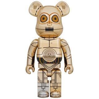 メディコムトイ(MEDICOM TOY)の1000% BE@RBRICK C-3PO(TM) ベアブリック スターウォーズ(その他)