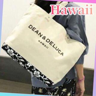 ディーンアンドデルーカ(DEAN & DELUCA)のDEAN&DELUCA ハワイ限定 トートバッグ ハイビスカス キャンバス 新品(トートバッグ)