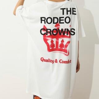 RODEO CROWNS WIDE BOWL - ロデオクラウンズ  ワンピース Tシャツ 新品 タグ付