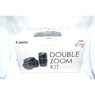 Canon - ★レンズフィルター付★ CANON EOS Kiss X7 ダブルズームキット