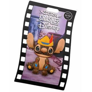ディズニー(Disney)のピンバッジ スティッチ ピノキオ ディズニー(バッジ/ピンバッジ)