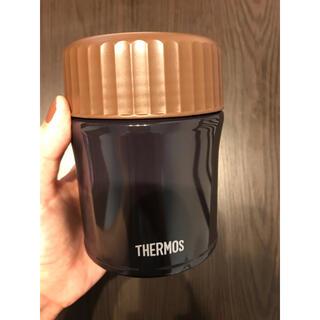 サーモス(THERMOS)のサーモス スープジャーネイビー(弁当用品)
