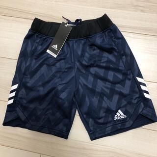 アディダス(adidas)の【新品】アディダス ハーフパンツ 140 ネイビー(パンツ/スパッツ)