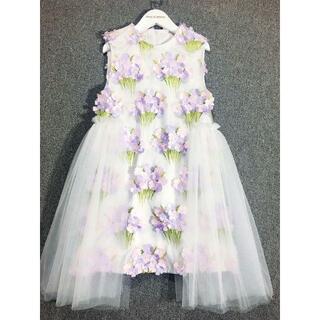【新品】130サイズ キッズドレス プリンセス フォーマル 夏ドレス(ドレス/フォーマル)