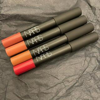 NARS - 新品未開封 NARS ランサムベルベットマットリップ 4本セット