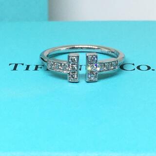 Tiffany & Co. - 美品 ティファニー TIFFANYT ダイヤモンド WG k18 リング 750