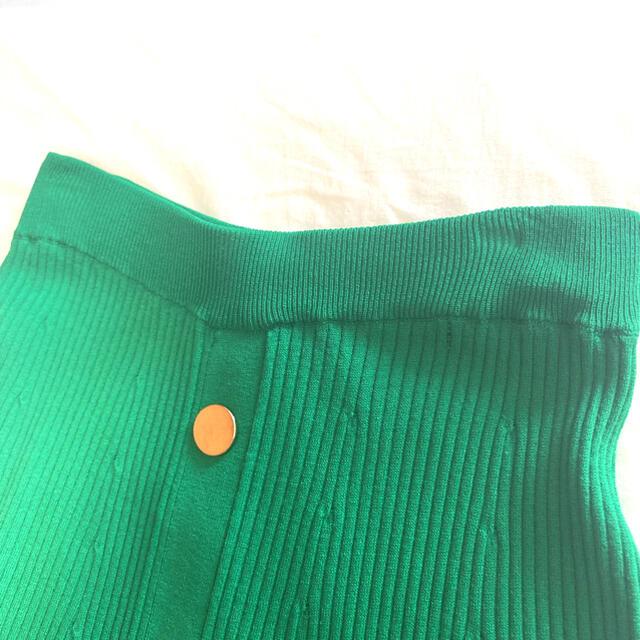 GRACE CONTINENTAL(グレースコンチネンタル)の【グレースコンチネンタル】2019S/S フレアリブニットスカート レディースのスカート(ロングスカート)の商品写真