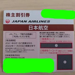 日本航空 株主優待券(航空券)