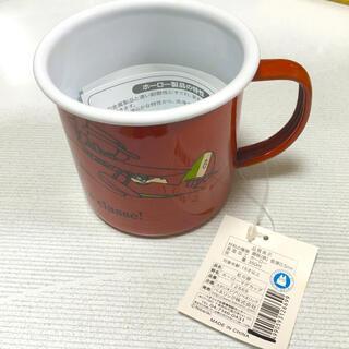 ジブリ(ジブリ)の紅の豚 ホーローマグカップ(グラス/カップ)