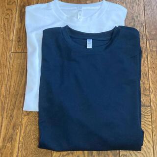 大きめサイズ 長袖Tシャツ 4L 3着セット