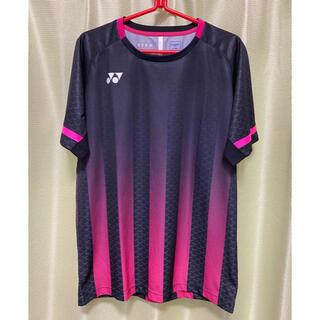ヨネックス(YONEX)のYONEX バドミントン公認ゲームシャツLサイズ【元インドネシア代表着用モデル】(バドミントン)