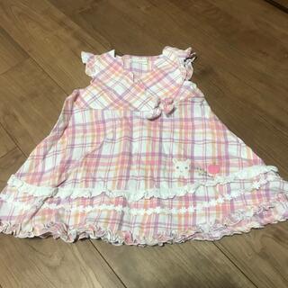 キムラタン(キムラタン)のベビー服 ワンピース 80サイズ(ワンピース)