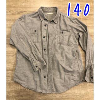 ジーユー(GU)の長袖シャツ GU 140(ブラウス)