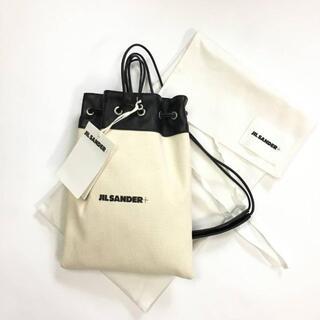 Jil Sander - 新品 21SS ジルサンダー キャンバス 巾着 ミニ ショルダーバッグ