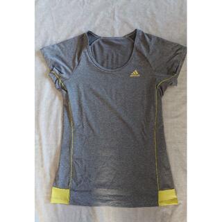アディダス(adidas)のLady's アディダス Lサイズ Tシャツ(トレーニング用品)
