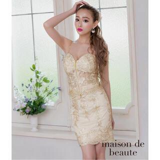 エンジェルアール(AngelR)のメゾンドボーテのゴールド刺繍ドレス💖(ナイトドレス)