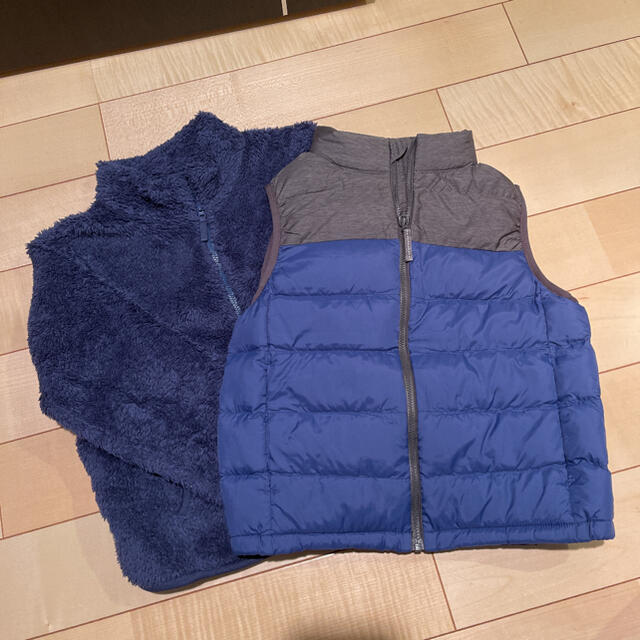 UNIQLO(ユニクロ)のユニクロ 2点 キッズ/ベビー/マタニティのキッズ服男の子用(90cm~)(ジャケット/上着)の商品写真