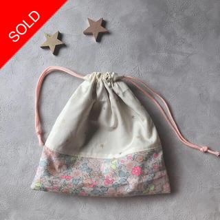 【handmade】巾着袋S *訳あり価格*(その他)