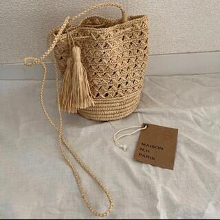 ドゥロワー(Drawer)のオシャレ✳︎MAISON N.H PARIS巾着バッグ RAF JUDITH(かごバッグ/ストローバッグ)