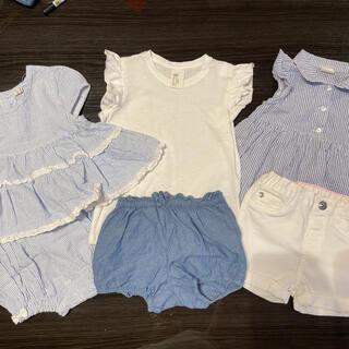 H&M - 【美品】H&M 韓国子供服 68,70,74サイズ 5点セット