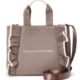 ジルバイジルスチュアート(JILL by JILLSTUART)のJILL by JILLSTUART フリルトートバッグ 大(トートバッグ)