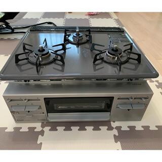 リンナイ(Rinnai)の美品リンナイビルトインガスコンロ(調理機器)