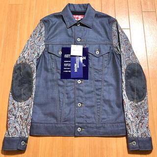 ジュンヤワタナベコムデギャルソン(JUNYA WATANABE COMME des GARCONS)のコムデギャルソン shirt 17ss デニムジャケット gジャン(Gジャン/デニムジャケット)