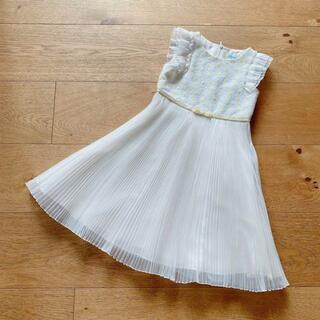 トッカ(TOCCA)の新品 トッカバンビーニ 100-110 ドレス デイジー 黄色 可愛い 発表会(ドレス/フォーマル)