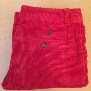 ラルフローレン(Ralph Lauren)のRalph Lauren 赤パンツ 美品(デニム/ジーンズ)