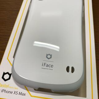 スマホケース iFace for iPhone XS Max 美品(iPhoneケース)