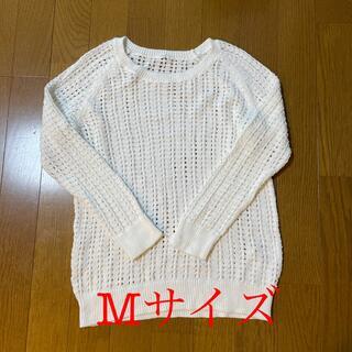 ムジルシリョウヒン(MUJI (無印良品))の無印良品 サマーニットMサイズ 綿100%(カットソー(半袖/袖なし))