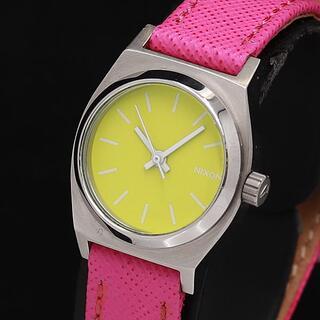 ニクソン(NIXON)のNIXON MINIMIZED レディース腕時計  純正レザー(腕時計)
