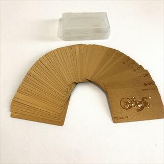 Golden Cards トランプ プラスチックケース付き(トランプ/UNO)
