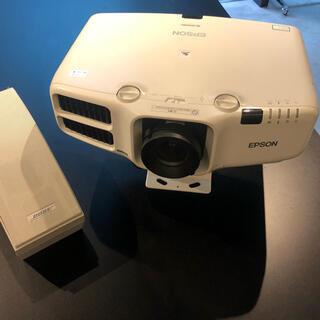 エプソン(EPSON)のEPSON EB-G6750WU&BOSEスピーカーSET(プロジェクター)