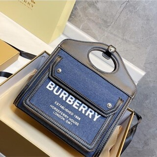 BURBERRY - 送料無料 BURBERRY  ショルダーバッグ 6