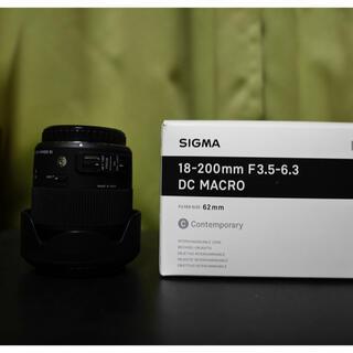 SIGMA - シグマ 18-200 EFマウント