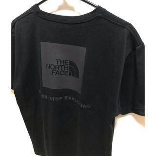 THE NORTH FACE - ノースフェイス ボックスロゴ Tシャツ ブラック