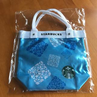 スターバックスコーヒー(Starbucks Coffee)の【新品未開封】スタバ ネスレ クリア トートバッグ サマー 夏 限定品 完売品(トートバッグ)