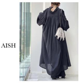 アパルトモンドゥーズィエムクラス(L'Appartement DEUXIEME CLASSE)のL'Appartement 【AISH/アイシュ】Maxi Dressブラック(ロングワンピース/マキシワンピース)