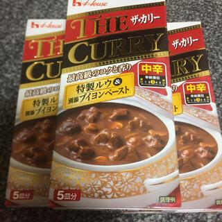 ハウス  ザ  カリー 中辛 3箱(レトルト食品)