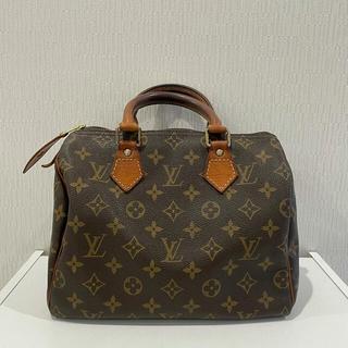 LOUIS VUITTON - 正規品 美品 ルイヴィトン モノグラム スピーディ25 バッグ 鞄