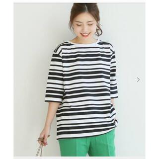 スピックアンドスパン(Spick and Span)のLe minor ルミノア ボーダー Tシャツ (Tシャツ(半袖/袖なし))