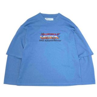 dairiku×tappei レイヤードTシャツ
