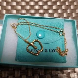 Tiffany & Co. - ティファニー ゴールドネックレス りんごモチーフ