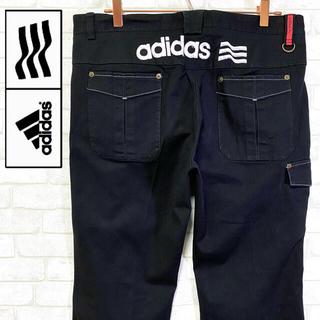 アディダス(adidas)のadidas GOLF アディダスゴルフ ストレッチパンツ 厚手刺繍ロゴ Dカン(ウエア)